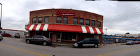 Panorama Of Original Arthur Bryant's - Brooklyn Avenue, Kansas City USA