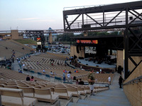 Mud Island Ampitheater about an hour before the concert